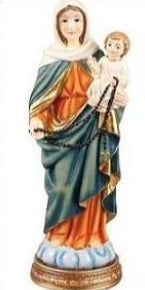 Our Lady of the Rosary 20cm Statue