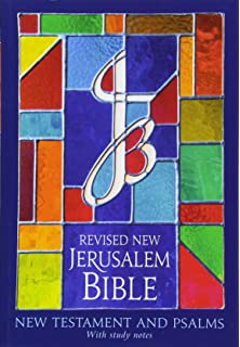 Revised New Jerusalem Bible New Testament and Psalms Paperback