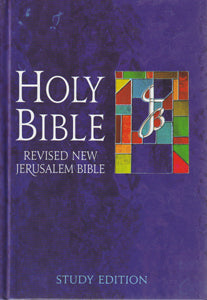 Revised New Jerusalem Bible Study Edition Hardcover