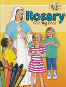 Rosary Coloring Book