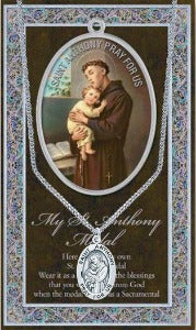 Necklet St Anthony of Padua