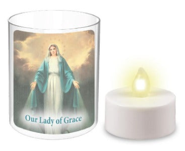 Votive Light -  Our Lady of Grace