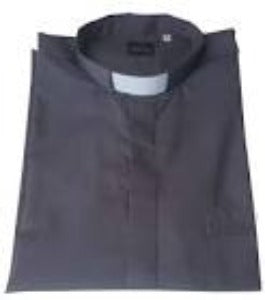 Clerical Shirt Long Sleeved Grey 2XL