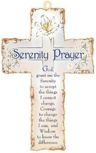 Cross - Serenity Prayer