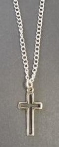 Necklet with  Cut Out Cross