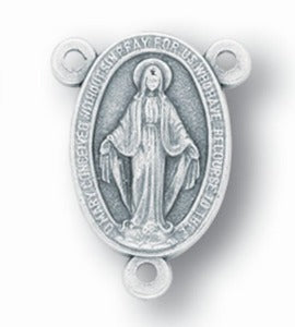 Rosary Centre Piece Miraculous Medal