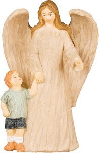Guardian Angel with Boy 13 cm