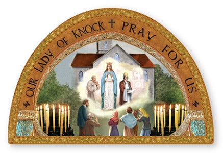 Plaque - Our Lady of Knock