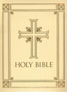 Holy Bible Revised Standard Version Catholic Edition - Family Bible