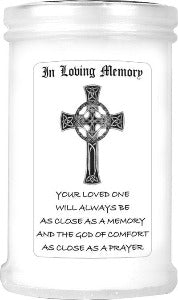 In Loving Memory Devotional Candle 10cm
