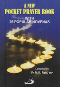 A New Pocket Prayer Book with 25 Popular Novenas