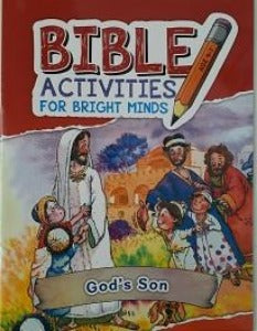 Bible Activities for bright minds - God's Son