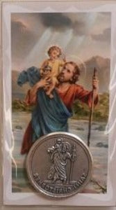 St Christopher  Pocket Token