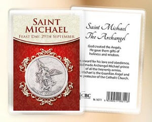 St Michael the Archangel Pocket Token