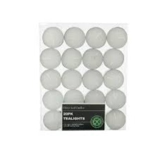 Tealights /Nighlights 20 in pack