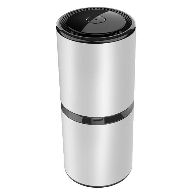 Silver Air Purifier