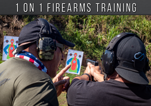 1 On 1 Firearms Training Course