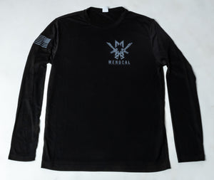 Dry Fit T-Shirt - Long Sleeve - Black