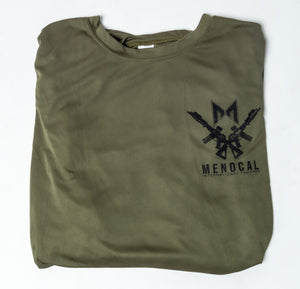 Dry Fit T-Shirt - Long Sleeve - OD Green