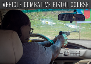 Vehicle Combative Pistol Course