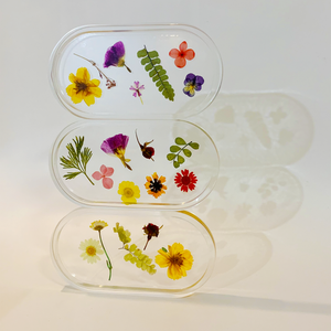 trinket dish in zinnia