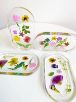 Load image into Gallery viewer, trinket dish in pansy