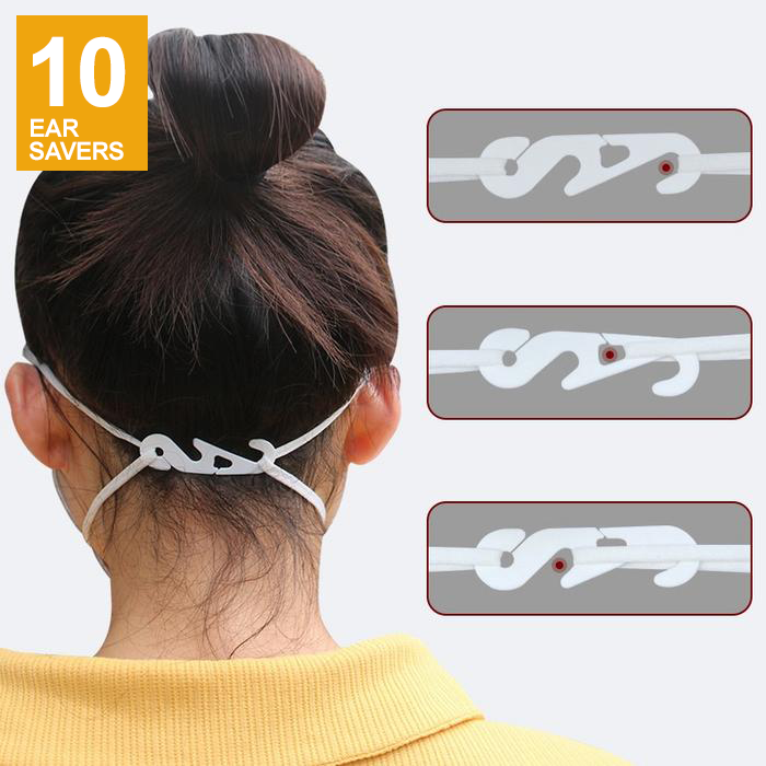 Goltum Mini Adjustable Ear Savers For Mask | Ships Within 24 Hours  From Canada - Goltum.com