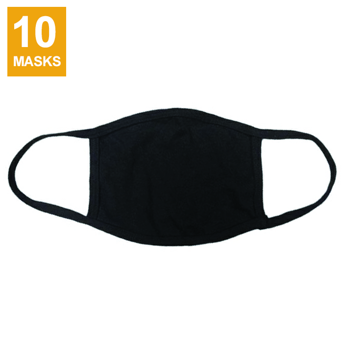 Goltum Reusable Cotton Face Mask (10 Masks) | Ships Within 24 Hours From Canada - Goltum.com
