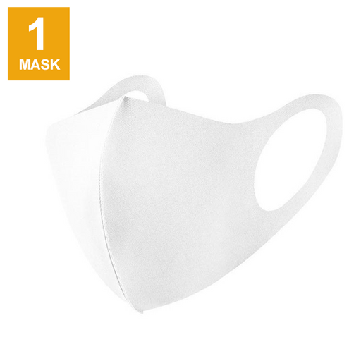 Goltum Fashion Reusable White Face Mask (1 Mask) | Ships Within 24 Hours From Canada - Goltum.com