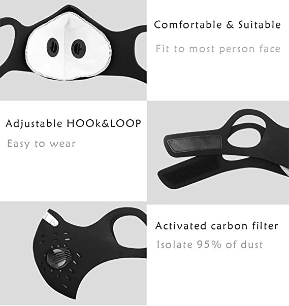 Reusable Dust Face Mask | Ships Within 24 Hours From Canada