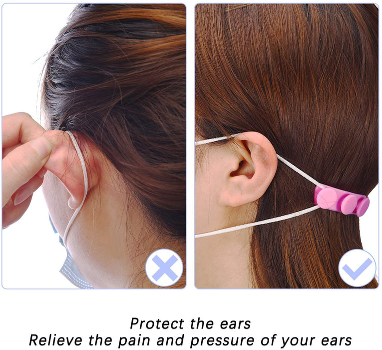 Goltum Silicone Adjustable Ear Savers | Face Mask Strap Extender | Ships Within 24 Hours  From Canada - Goltum.com