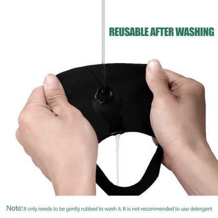 Goltum Fashion Reusable Black Face Mask (2 Masks) | *Shipping Within 24 Hours From Canada - Goltum.com