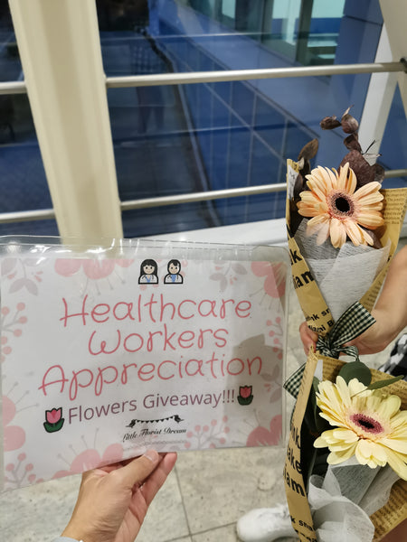 Healthcare Worker Appreciation on International Women's Day Singapore