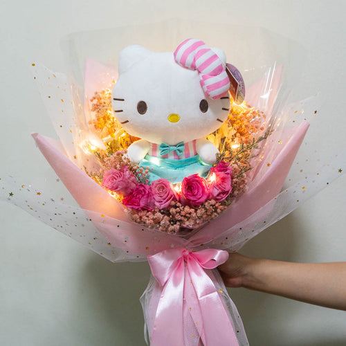 Hello Kitty Bouquet Flower Delivery