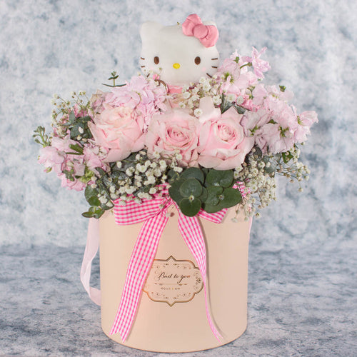 Hello Kitty Flower Box | Little Florist Dream