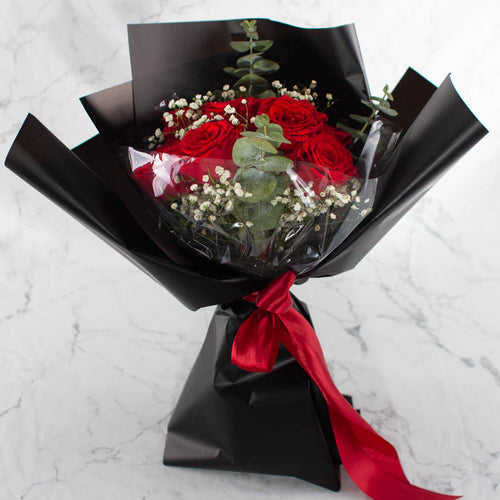 Red Roses Valentine's Day | Little Florist Dream