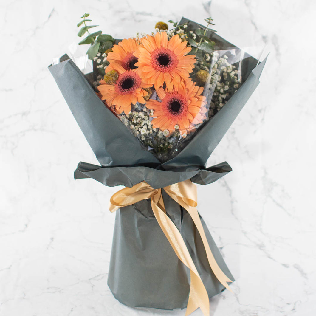 Orange Valentine Flower | Little Florist Dream