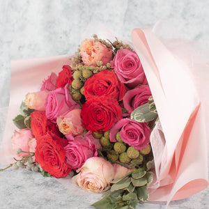 21 Roses Flower Bouquet | Little Florist Dream Singapore