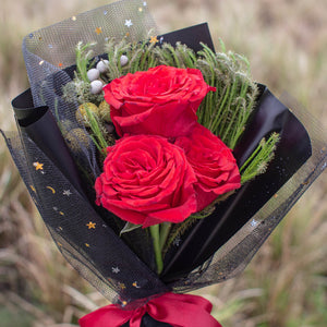 3 Red Roses | Florist Singapore