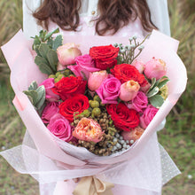 Load image into Gallery viewer, 21 Roses Flower Bouquet | Little Florist Dream Singapore