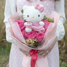 Load image into Gallery viewer, Hello Kitty Flower Bouquet Valentine's Day | Free Delivery Singapore