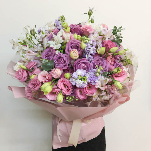 100 roses valentine's day | Little Florist Dream