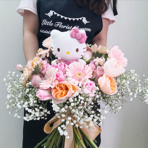 Hello Kitty Flower Bouquet | Singapore Free Delivery
