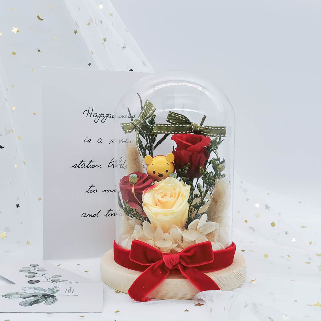 preserved flower decoration