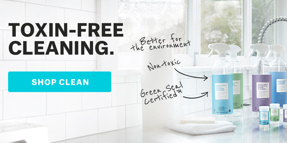 Toxin-free cleaning.  Shop Cleaning.