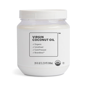 Organic Virgin Coconut Oil - Large