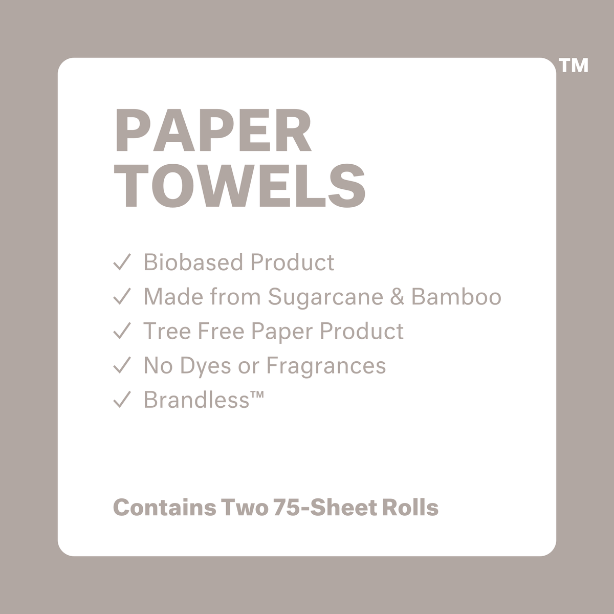 Tree Free Paper Towels - 2 Pack