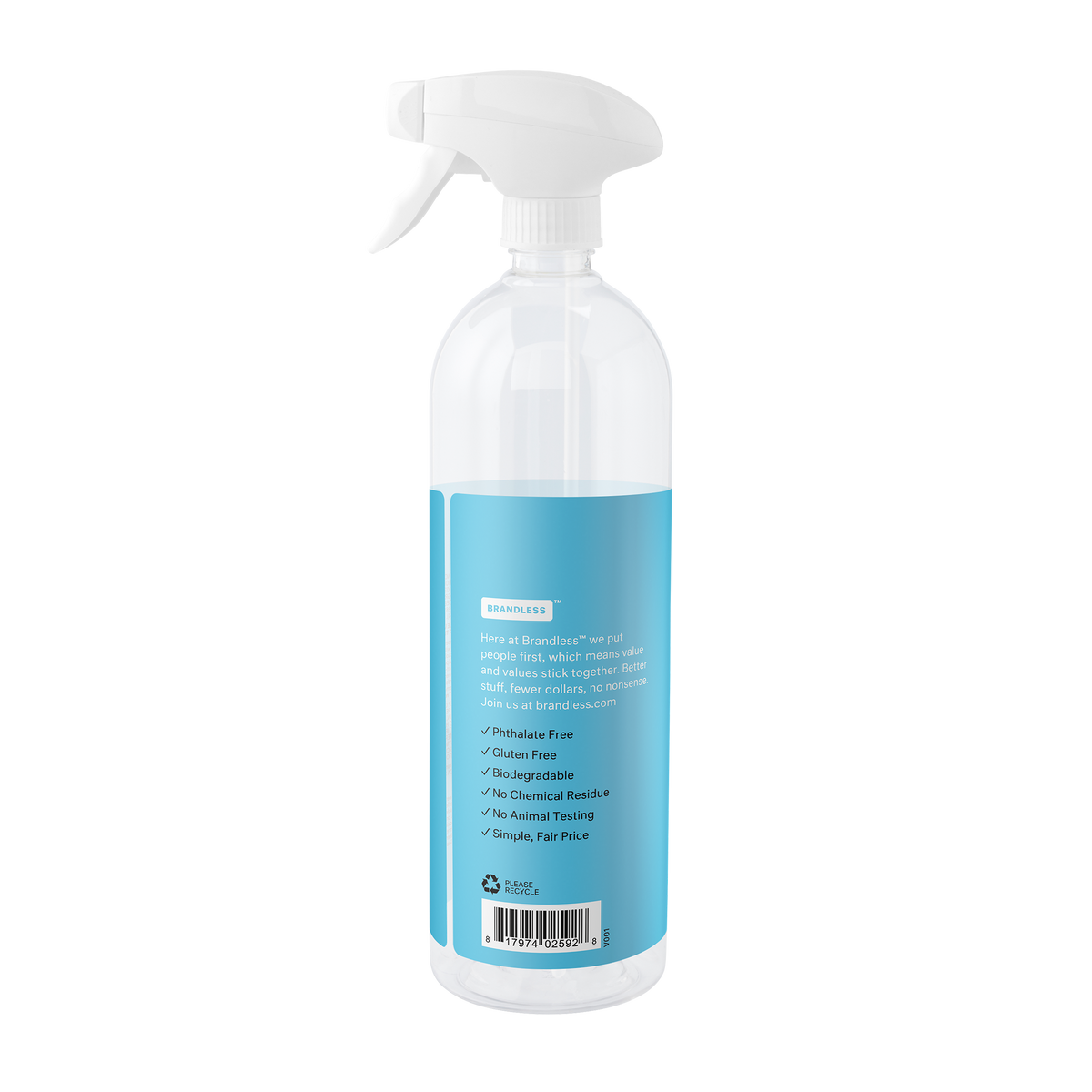 Refillable Multi Surface Cleaner - Summer Breeze