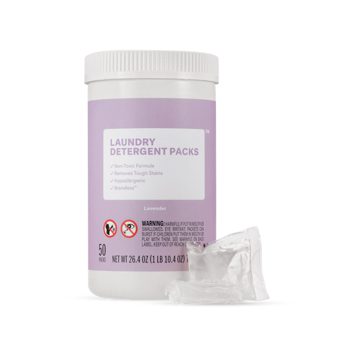 Laundry Detergent Packs - Lavender
