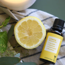 Load image into Gallery viewer, Pure Lemon Essential Oil